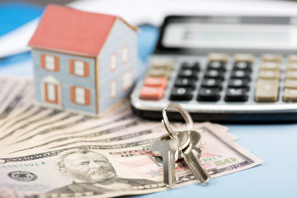 jacksonville property manager collecting security deposit